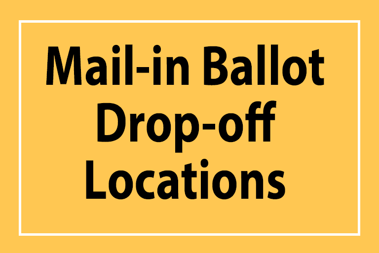 mail in ballot drop off locations